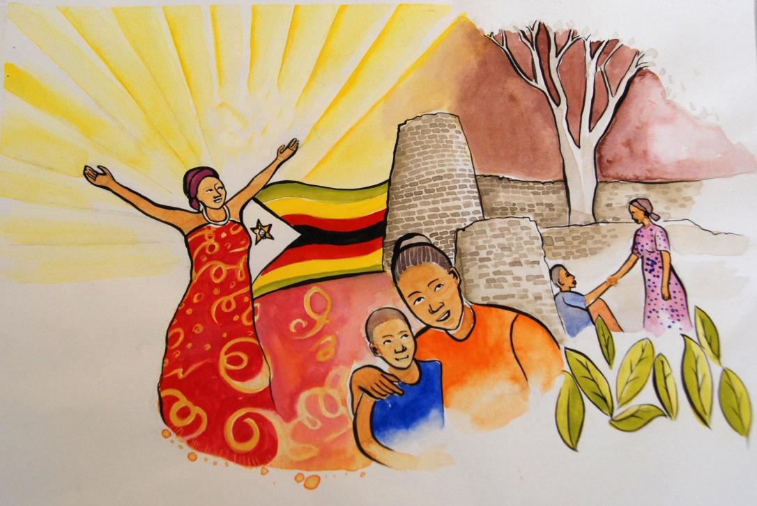 7a Art work Zimbabwe